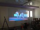 Экран для проектора из натяжного потолка
