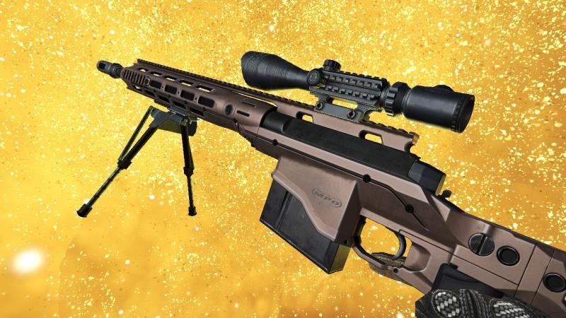 Проверка оружия болт: Remington MSR