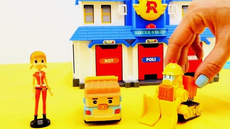 La stazione di soccorso ed il camion dei trasporti - Video divertenti!