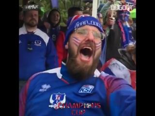 Как в Исландии праздновали первый гол в истории ЧМ