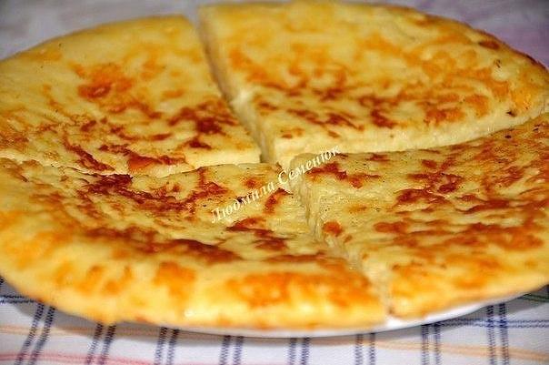 Экспресс-хачапури к завтраку (на сковороде) Это очень вкусная