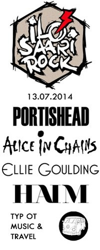 Ilosaarirock - Portishead - 13.07.2014 - M&T