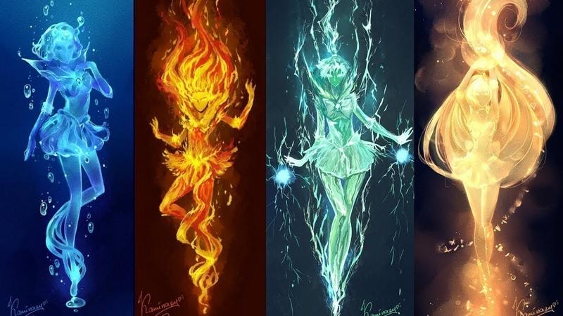 Практики работы с энергиями стихий - Огонь, Воздух, Земля, Вода. Магическое Сознание. Зан.18 ч.1