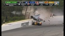 Robert Wickens Scary Crash LIVE REPLAYS Indycar Pocono 2018
