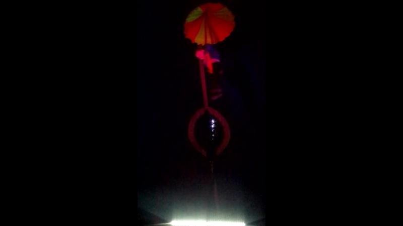Мой малыш под куполам цирка.