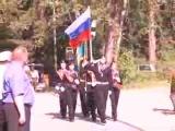 ДЮП. Открытие 22 областного финала военно-спортивных игр