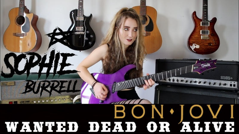 Wanted Dead Or Alive - BON JOVI | Sophie Burrell Cover