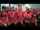 Футболисты «Штутгарта» желают удачи Бенжамену Павару