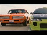 '69 GTO The Judge vs. '95 Eclipse 2G