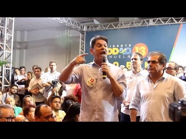 URGENTE: Cid Gomes 'fala verdades' para petistas e os humilha em pleno comício do PT, causando..