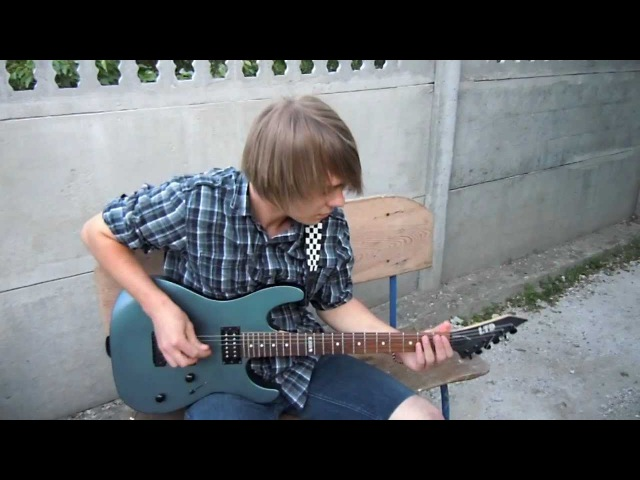 Asking Alexandria - A Candlelit Dinner With Inamorta (guitar cover by S.K.)