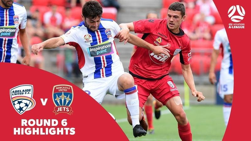 Hyundai A-League 201718 Round 6 Adelaide United 1 - 2 Newcastle Jets