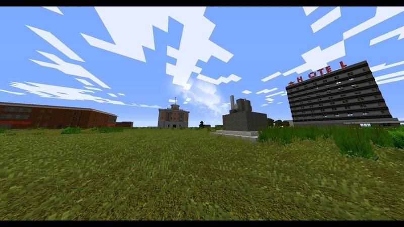 Minecraft DayZ1 Черногорск - столица Черноруссии Chernogorsk