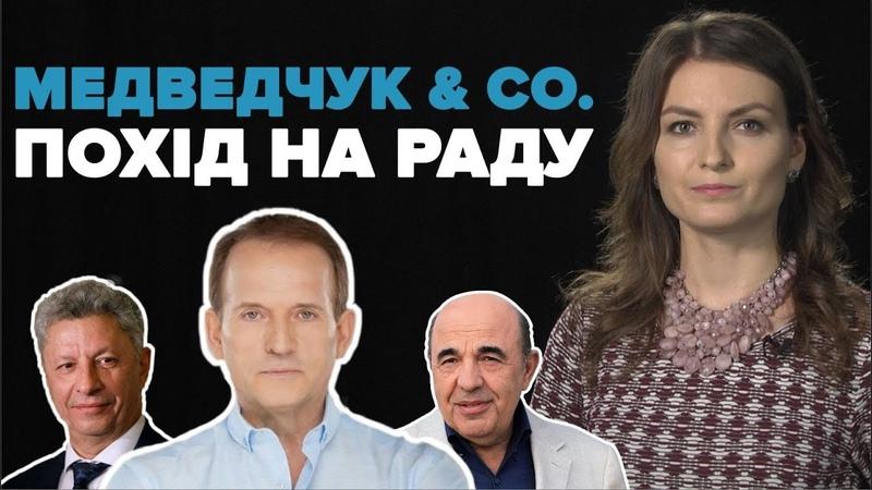 🇺🇦 Люди Медведчука і соратники януковича як «Опозиційна платформа – «За життя» йде у Раду РадіоСвобода