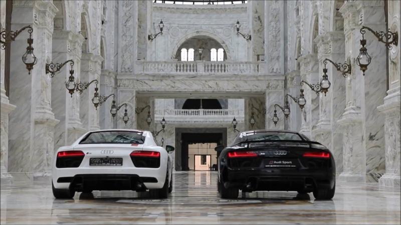 Audi R8 RWS и Audi R8 V10 | Аль-Хазм, Катар