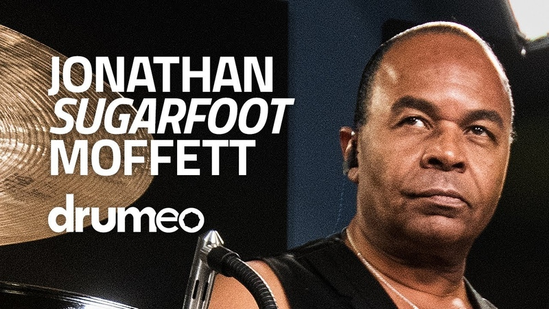 Jonathan Sugarfoot Moffett: Leading Drum Grooves With Your Foot (FULL DRUM LESSON)