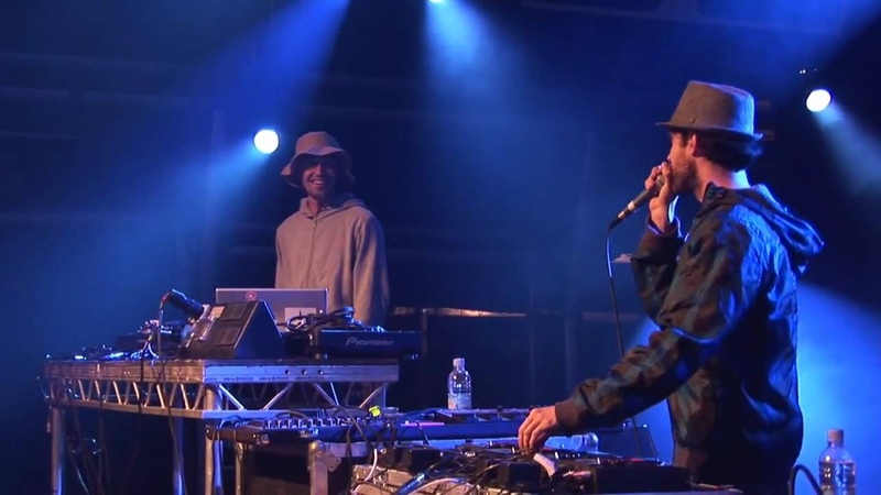 Beardyman and JFB on Camp Bestival main stage
