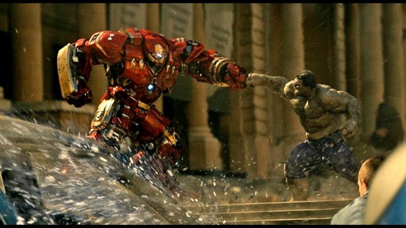 Халк против Халкбастера | Сцена из фильма: Мстители: Эра Альтрона.
