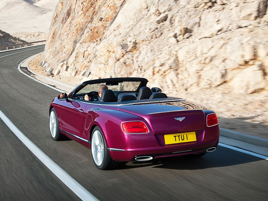 Кабриолет Bentley 2013
