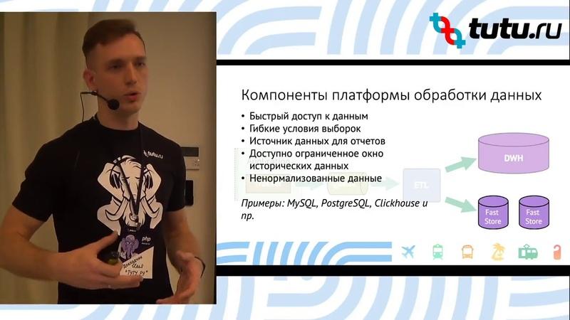 Tutu PHP Meetup 2. Построение системы аналитики в условиях agile-разработки
