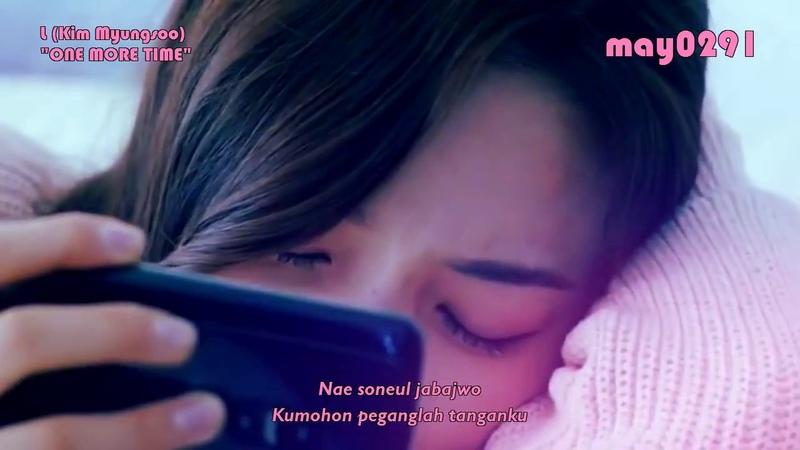 [INDO SUB] L (Kim Myungsoo) INFINITE - One More Time (FMV)