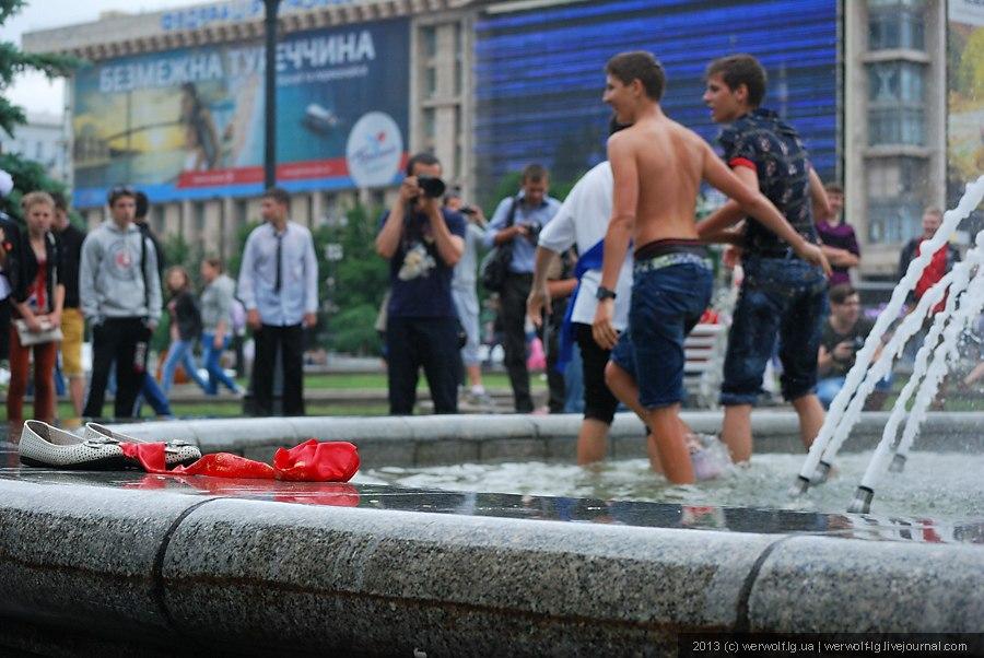 Последний звонок в Киеве 2013