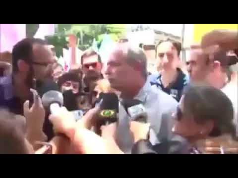 Ciro Gomes agride repórter em Roraima