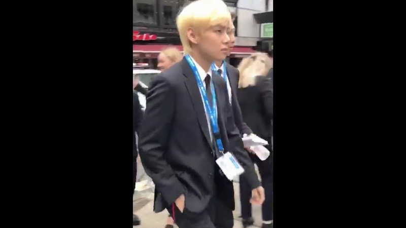 BTS Arriving at UN Building For Their Speech at the UNICEF Generation Unlimited Launch
