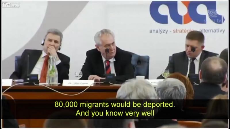 Jeden z najlepších prejavov Českého prezidenta Miloša Zemana.