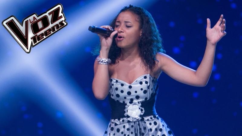 Alejandra canta 'I will always love you' | Audiciones a ciegas | La Voz Teens Colombia 2016