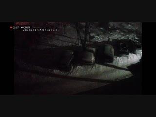 Вредители машин в Индустриальном районе Перми. ВИДЕО