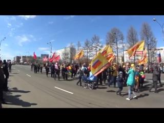 Братск Ж.Р. Центральный Парад 9 мая 2018