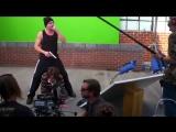 Видео со съёмок фильма «Горе-творец»