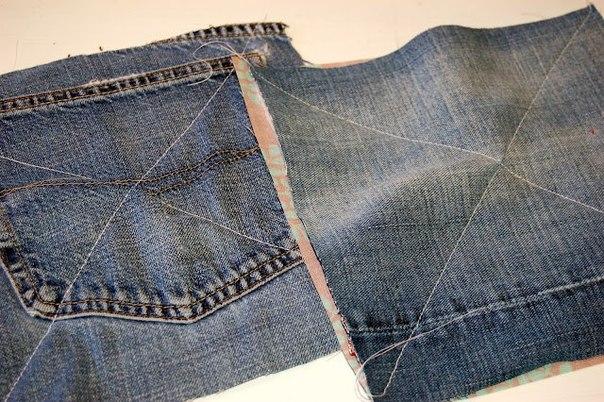عندك جينز وقماش قديم تعالي بسرعة قبلماارجع في كلامي