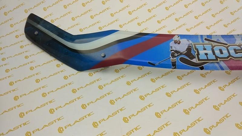 CA Plastic | Mitsubishi Outlander XL Hockey Hood deflektor