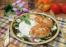 Котлеты из курицы с луком и горчицей