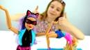 Мультики для девочек - Экзамен по гимнастике у Барби - Видео про кукол