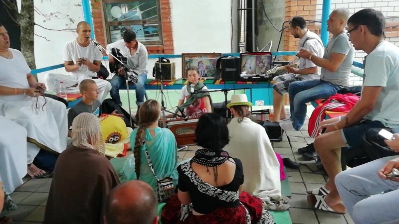 Фестиваль Садху-Санга. Киртан