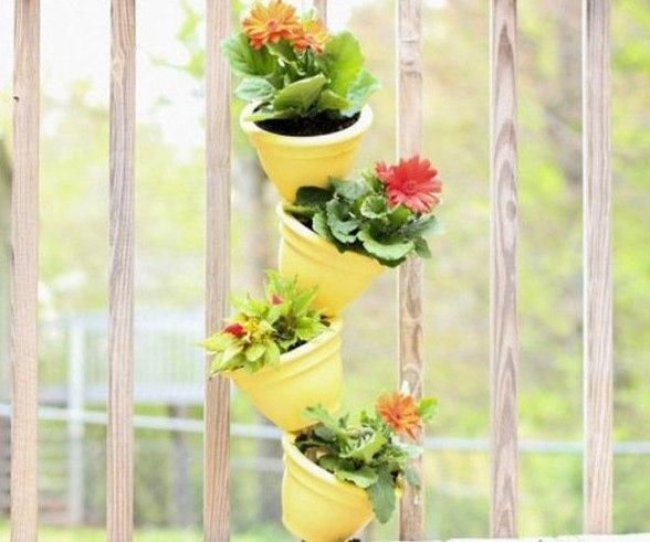 Как создать вертикальный сад на балконе: мастер-класс Этот сад идеально подходит для маленьких городских балконов. Просто и недорого!