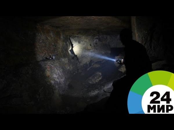 В Коми на шахте обрушилась горная порода - МИР 24