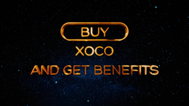Hurry up to invest in XOCO ➡ www.xo-coin.co