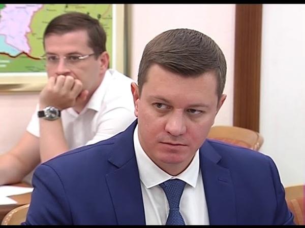 Шлагбаумы на прибрежных территориях обсудили в краевой администрации
