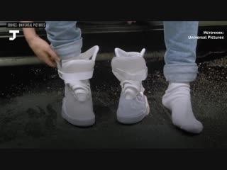 Кроссовки Nike с автошнуровкой, как в «Назад в будущее» для баскетболистов