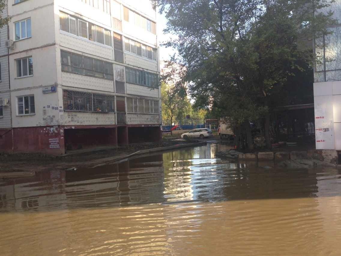 Затопленный Хабаровск