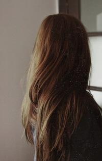 Темные волосы фото без лица на аву