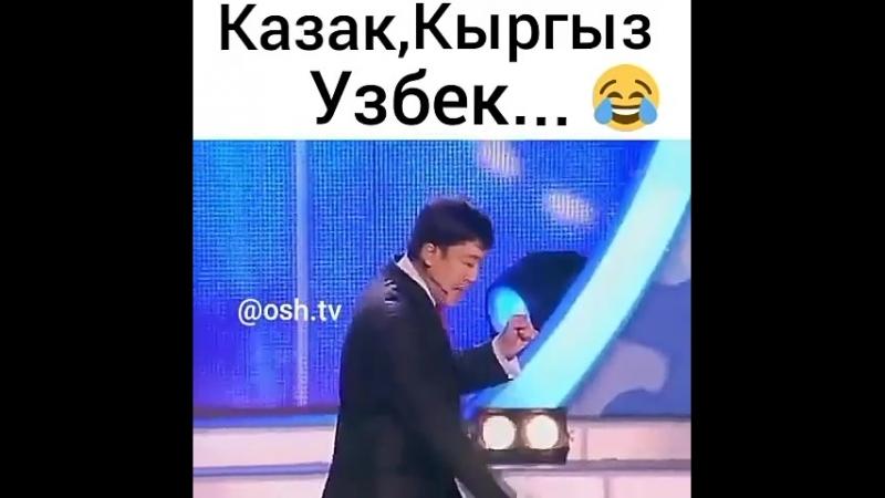 казах, киргиз, узбек