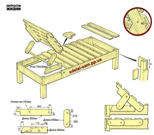 мебель своими руками чертежи