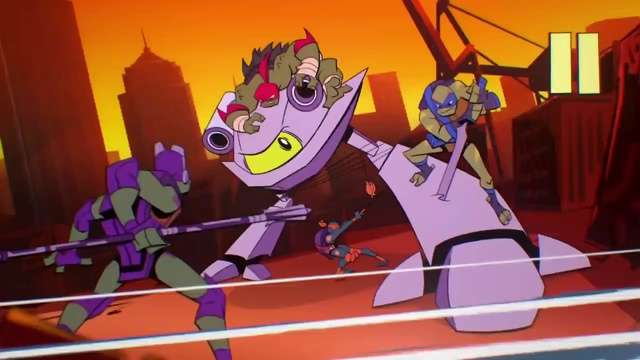 Расцвет черепах ниндзя|Rise of the Teenage Mutant Ninja Turtles|s01e03|сезон 1 серия 3|sMUGENom