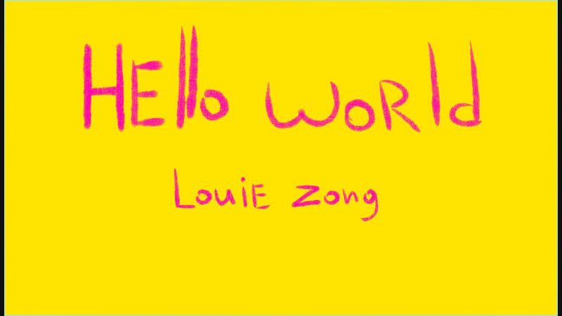 Hello world - louie zong (Podsolnuh animatic)