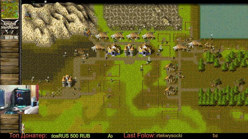 Knights and Merchants Турнир Раунд 3 1440p 90fps